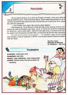 Texto para 4º ano:Narizinho  |   Rérida Maria