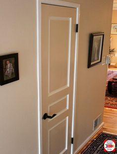 Painting Interior Doors In Two Colors: See How We Did It