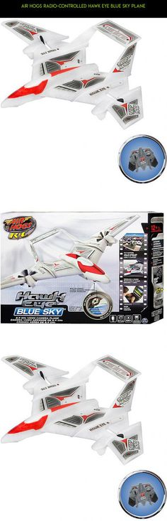 Air Hogs Radio-Controlled Hawk Eye Blue Sky Plane #gadgets #kit #fpv #camera #products #drone #airplane #shopping #plans #technology #racing #hogs #tech #air #parts