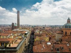 """Bologna View - """"Your Best Guide to The Italian #MotorValley"""" by @1unfinishedman"""