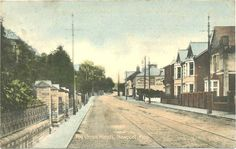 Chepstow Road, The Cross Hands Newport Gwent, Cross Hands, Old Photos, Wales, Past, Sidewalk, Old Pictures, Past Tense, Vintage Photos