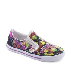 Tenisi fete 933220 - Pablosky Flower Power, Slip On, Sneakers, Shoes, Fashion, Tennis, Moda, Zapatos, Shoes Outlet