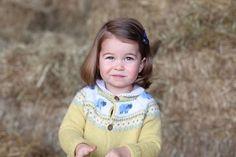 Princess Charlotte, age 2.