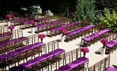Radiant Orchid Brightens Your Wedding Day - MODwedding