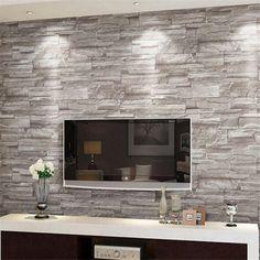 Rétro en relief papier peint brique mur volume moderne blanc 3d effet brique papier peint pour les murs 3d salon fond couverture