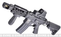 Evike Custom G&P M4 Full Metal Airsoft AEG Rifle - TANK, Airsoft Guns, Airsoft Electric Rifles, G&P - Evike.com Airsoft Superstore