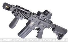 Evike Custom G&P M4 Full Metal Airsoft AEG Rifle - TANK, Airsoft Guns, Airsoft Electric Rifles, G&P - Evike.com Airsoft Superstore