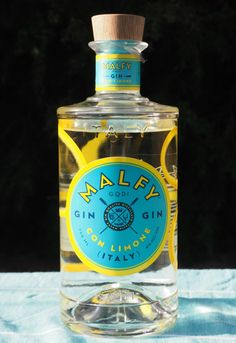 "Currently my gin of choice. Yum!!!  Malfy Gin ""con Limone"" - Italy - GC"