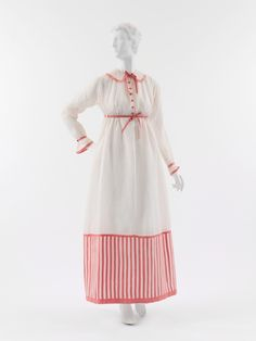 """""""A lovely, airy linen dress by the incomparable Paul Poiret, 1912."""""""