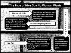 If you're a nice guy, here's four reasons women don't date you. #relationshipadvice