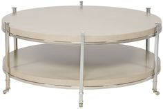 Vanguard Furniture - Our Products - W387C Gibson Round Cocktail Table