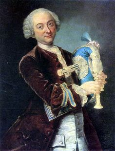 Lorenzo Baldissera Tiepolo  - Portrait d'un musicien 1765