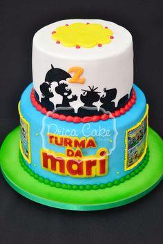 Drica Cake Confeitaria Artesanal: turma da mônica