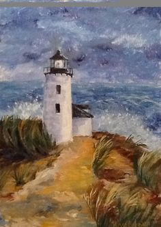 paintings of old light houses | To purchase, please email roseennocentilove@gmail.com