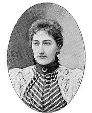 Princess Clémentine of Belgium (1872 - 1955). Third daughter of Leopold II and Marie Henriette of Austria. She married Napoleon Victor Bonaparte and had two children.