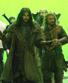 One does not simply strut to the Lonely Mountain<< oh my gosh just look at fili and kili! I could watch this all day long XD