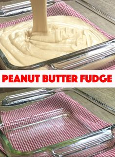 Peanut butter fudge is always popular around the holidays especially at Christmastime. But its delicious any time of year. Creamy peanut butter fudge is the perfect gift for teachers office staff friends and neighbors. Homemade Fudge, Homemade Candies, Homemade Marshmallows, Old Fashion Fudge Recipes, Old Fashioned Fudge, Best Fudge Recipe, Chocolate Peanut Butter Fudge, Chocolate Fudge Recipes, White Chocolate Fudge