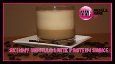This is for COFEE LOVERS, this is a HIGH PROTEIN shake that tastes like a VANILLA LATE!  You gotta try it, its delicious.  Great #healthyrecipe.  REPIN if you like COFFEE