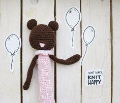 Carlota  #amigurumi #bear #amigurumis #crochet #handmade Handmadewithlove #hechoamano #fetama #crochetaddict #barcelona #bcn #dwkh #dontworryknithappy