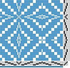 4S 4T pattern Weave-Away