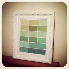 Paint swatch modern art by Jennifer