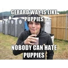 Can't hate Gerard Way