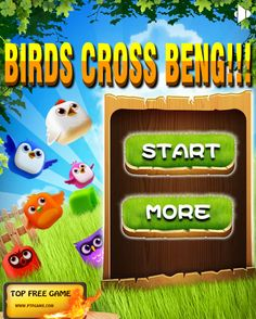 Play #BirdsCrossBeng. Beng beng beng,cute birds and funny music waiting for you.