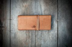 Small  Handmade Leather Women's wallet, leather clutch made in Guatemala
