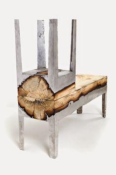 Sweet Living - wnętrza z pasją: Drewno i metal, czyli najnowsze trendy we wnętrzach