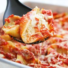 Luigi's Pizza and Pasta Stuffed Shells Italian Dinner is a complete meal. A side salad with a choice of dressings and bread with butter are also included. Your dinner is made fresh in our kitchen in a matter of minutes, just for you.