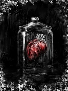 Lesser Heart - Heart in a Jar by James McDonald. The Black Dagger Brotherhood