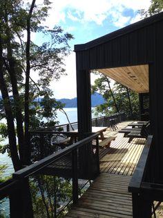 House Todos los Santos Lake, Chile by Apio Arquitectos.