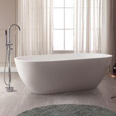 Avanity VersaStone Free Standing Acrylic Soaking Bathtub - VBT1503-MT