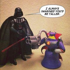 Achei que era mais alto mesmo...