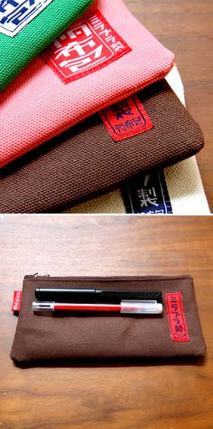 Canvas pen case(normal)