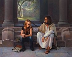 Jesus Art Print featuring the painting The Master's Touch by Greg Olsen Greg Olsen Art, Holding Hands Drawing, Pray For Strength, Jesus Art, Jesus Christ, Savior, Mormon Temples, Pictures Of Christ, Things About Boyfriends