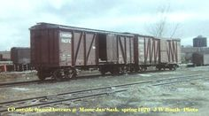 And Old Canadian Railway Rolling Stock. Outside frame box cars at Moose Jaw, Saskatchewan Spring, Old Train Pictures, Railroad History, Choo Choo Train, Canadian Models, Old Trains, Rolling Stock, Train Station, Bridges, Moose