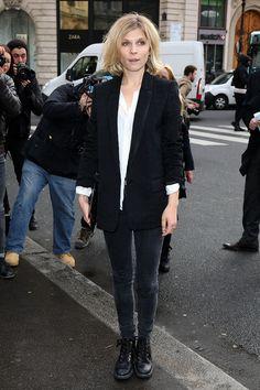 Clemence Poesy - Stella McCartney : Outside Arrivals  - Paris Fashion Week Womenswear Fall/Winter 2014-2015