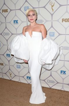 Pin for Later: The Emmys Afterparties Mean Even More Glamour Lady Gaga