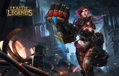 VI @league of legends, jojo so on ArtStation at http://www.artstation.com/artwork/vi-league-of-legends