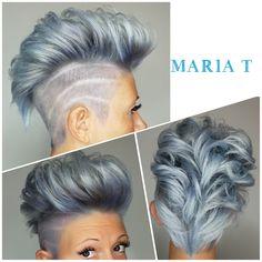 #Belousm #amazing #silver #tones #beautiful #trendy #haircut #haircolor #modernsalon #love #passion #create  #salontoday #Maria T #Thursday
