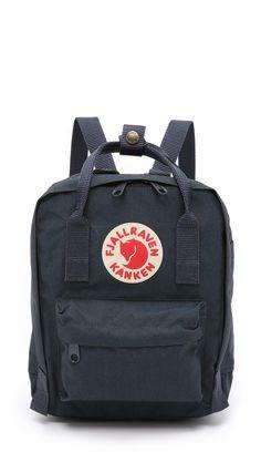 Fjallraven Kanken Mini Backpack - Navy