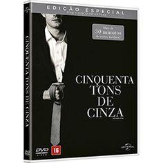 DVD + Disco de Extras - Cinquenta Tons de Cinza: Edição Especial (2 Discos)
