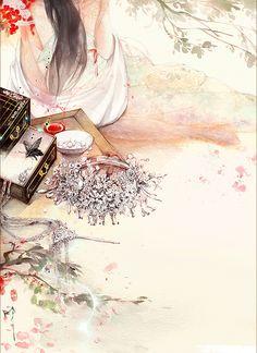 曾经沧海难为水,除却巫山不是云。 取次花丛懒回顾,半缘修道半缘君。  ——唐 元稹《离思》 Chinese Artwork, Chinese Painting, Black Seed Oil Dosage, Art Costume, Epic Art, China Art, Korean Art, Creative Pictures, Anime Scenery