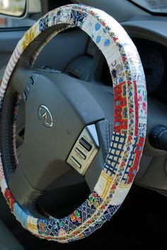 $20 Hippie Chic Steering Wheel Cover