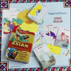 WorldWise Geography Card Game - Asian | Main Photo (Cover)