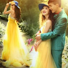 yellow wedding dress http://www.lolvetements.com/
