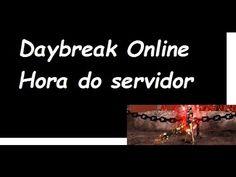 Como saber a hora exata do servidor - Daybreak Online