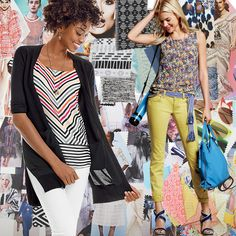 #cabi - Discover how the bold colors, breezy fabrics, and chic new silhouettes from our latest Collection were inspired.