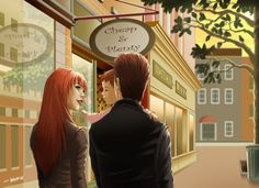 The Parker Family: Peter, Mary Jane and Baby May by Wolfie